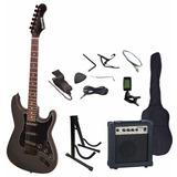Pack Guitarra Electrica Pac34bk Scorpion Musicstore