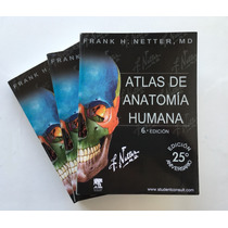 Netter 6ta Edición - Atlas De Anatomía + Cd + Envio Gratis