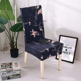 Funda De Silla Impresa Soft Milk Silk Home Seat Protector