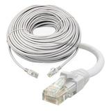 Cable De Red Utp Rj45 Categoría Cat 5e 30 Mts