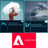 Photo-shop Cc 2.019 + Light-room + Camera Raw. Mac / Windows