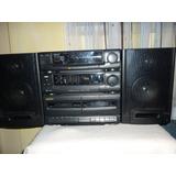 Minicomponente Radio Cassette Marca Kioto Para Reparar.