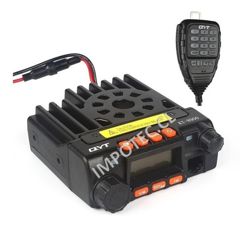 Radio Movil Base Kt8900 25w 200 Canales / Impotec