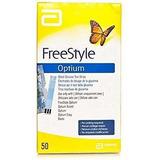 Cintas Para Medir Glicemia Freestyle Optium - Caja 50 Un.