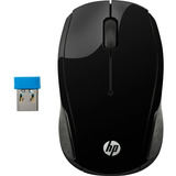 Mouse Hp 200 Inalámbrico Negro