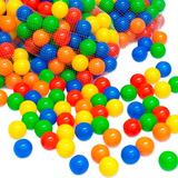 500 Uds. De Pelotas Plásticas Para Piscina Colores Surtidos