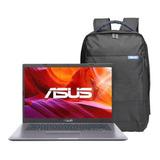 Notebook Asus Intel Celeron 4gb 1tb W10 14´ + Mochila