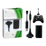 Kit De Carga Y Juega Xbox 360 Batería  8000 Mah
