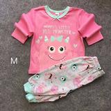 Oferta Conjunto Pijama Algodón Para Bebe Niña