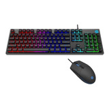 Kit Gamer Teclado Y Mouse Hp Km 300f Layout Español Revogame