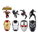 Mouse Avengers Inalambrico Aaa Marvel Super Heroes 2.4g