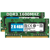Pack Ddr3 Macbook Pro 2x4gb (total 8gb) 1600mhz Mid 2012
