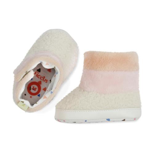 26656ce9a Bota Velcro Bb Soft Niña Coral Ficcus