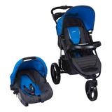 Coche Travel System Tizzy Race Blue Infanti