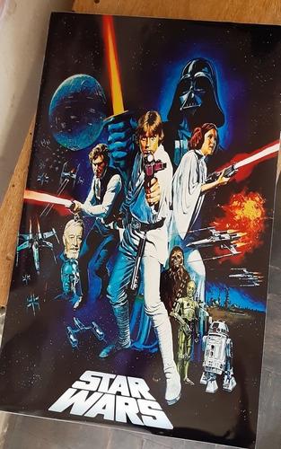 Star Wars Cuadro Grande