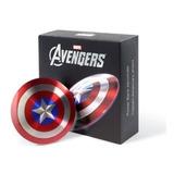 Batería Externa Portátil Usb Escudo Capitán América 6800 Mah
