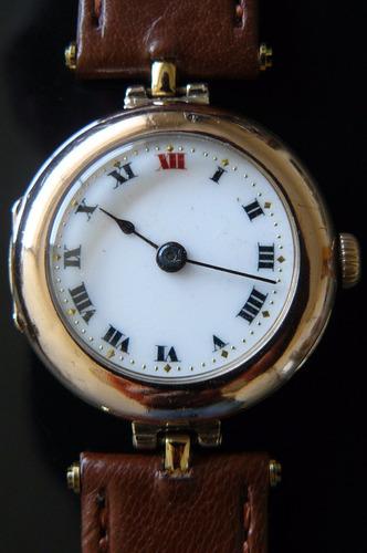 8f0dd435338a Reloj Rolex Antiguo Oro Solido Suizo Cuerda 15 Rubi Año1917