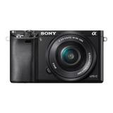 Sony Cámara Con Montura E Y Sensor Aps-c Ilce-6000l