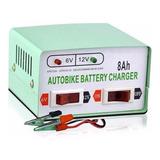 Cargador De Bateria Para Autos Y Motos 12v Y 6v