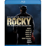 Rocky Coleccion Completa Bluray Latino Envio Incluido