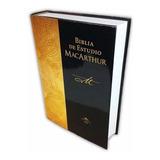 Biblia De Estudio Rv60 Macarthur Tapa Dura - Peniel Chile