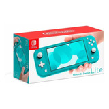 Consola Nintendo Switch Lite, Turquesa + Lamina Vidrio