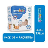 Pañal Emubaby Premium Elige Talla Pack X 4 Paquetes
