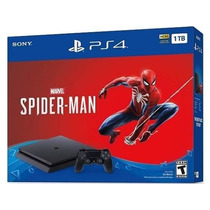 Consola Ps4 Marvel's Spiderman 1tb - 12 Cuotas - Sniper