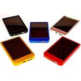 Bateria Externa Portable 2600mah Powerbank Solar  Y Ac