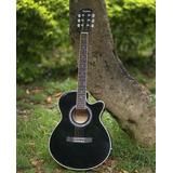 Guitarra Electroacustica 40 ,4 Bandas + Bolso+colgador