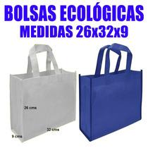 Bolsas Ecologicas Tnt 26x32x9