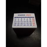 Tacos Calendarios Mini Año - 2021 -  100 Unidades