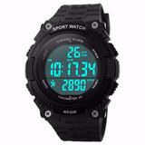 Reloj Deportivo Unisex Militar, Podometro,luz, Cronometro