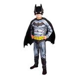 Disfraz Superman O Batman Con Músculos Originales