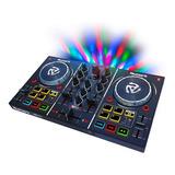 Controlador Dj Numark Partymix Mezcladora Consola C/ Luces