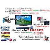 Servicio Tecnico Multimarca Reparación Tv-audio-video-foto