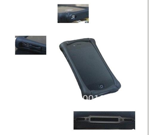 dd8aa8c607c Liquidación Carcasa Bumper De Silicona Para Iphone4 Mp3 Mp4