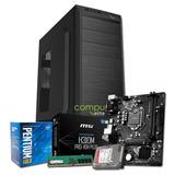 Pc Armado | Intel Pentium G5400 + H310 + 8gb + 1tb + Kit
