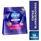 14 Sobres Tiras Blanqueador Oral-b Whitestrips Advanced Seal