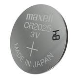 5 Pilas Maxell Cr2025 Tipo Botón Japonesa /3gmarket