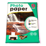 Papel Fotografico Glossy 115 Grs. A4 100 Hojas
