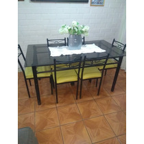 Comedores 6 Sillas Vidrio con los mejores precios del Chile en la ...