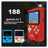 Consola Portatil Con 188 Juegos Retro