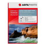 Papel Premium Agfa Glossy 240gr 50 Hojas A4