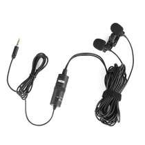 Boya By-m1dm Dualhead Lavalier Micrófono Omnidireccional Pr