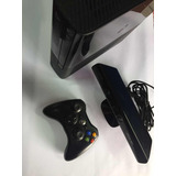 Xbox 360 Slim + Kinect + Mando + 1 Juegos