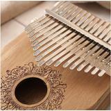 Instrumento Principiante De Piano De Dedo Kalimba De 17 Tono