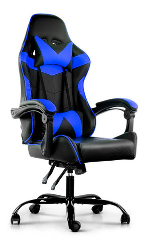 Silla Gamer Lumax Reclinable Y Elevable Colores Metinca