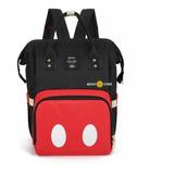 Bolso Maternal Pañalera Diseño Mickey Mouse