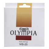 Set De Cuerdas Violin Olympia Vis25 4/4 Encordado Violines